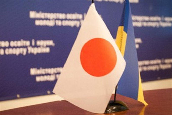 100 миллионов долларов от Японии для Украины