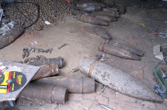 Житель Днепропетровской области задержан за хранение боеприпасов