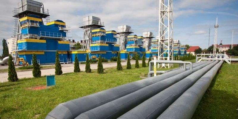 Запасы газа в украинских хранилищах сократились на 1%