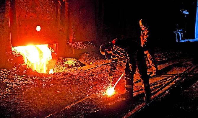 Металлургическим заводам на неподконтрольных территориях Донбасса не хватает сырья