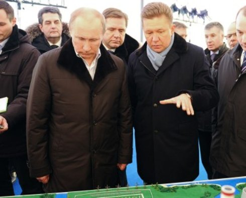 «Газпром» забронировал рынок удобрений Украины