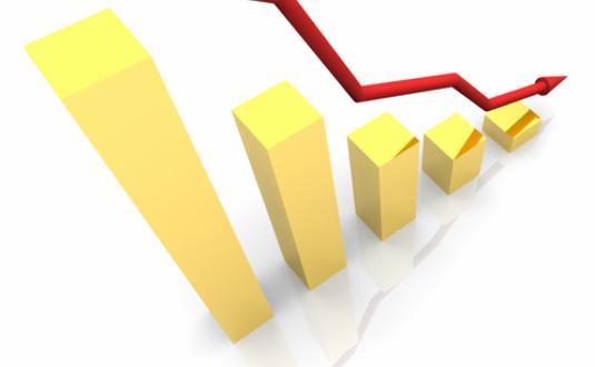 Промышленное производство в Украине за год снизилось на 10%
