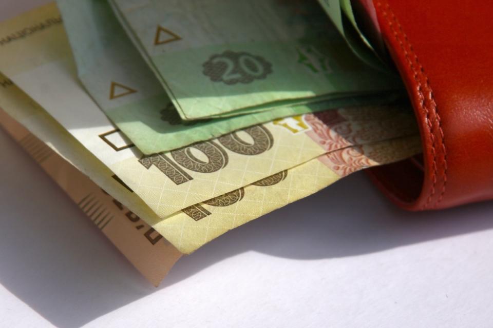 Заработная плата в Украине уменьшилась на 13,9%