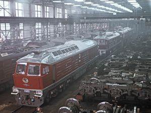 «Лугансктепловоз» останавливает работу из-за невозможности получать двигатели из Германии и США
