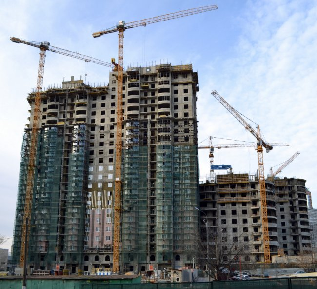 В Киеве дорожает рынок первичного жилья