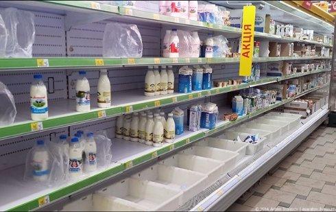 Зону АТО и Крым ожидает серьезный дефицит продуктов