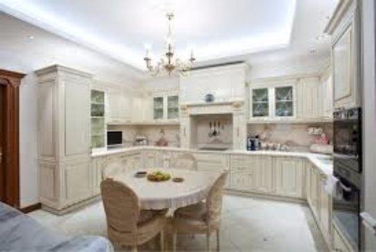 Оформление кухни в стиле классического дизайна