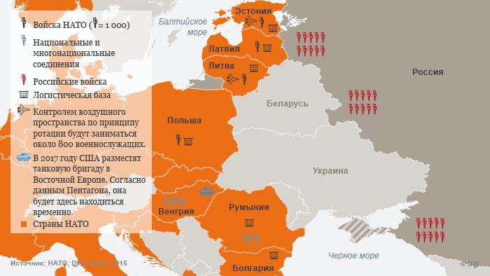 НАТО продемострировало свою оборону в Латвии
