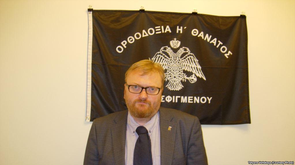 Депутат РФ Милонов потребовал запретить пропаганду эволюции