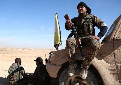 Курды захватили знаменитый дворец Шахерезады