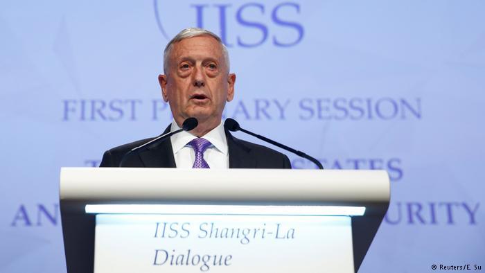 Глава Пентагона назвал КНДР очевидной угрозой всему миру