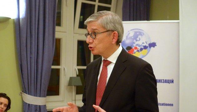 Мировое украинство призывает ЕС и США давить санкциями на РФ пока та не вернет Крым и Донбасс