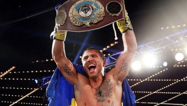 Украинец вошел в пятерку лучших боксеров мира