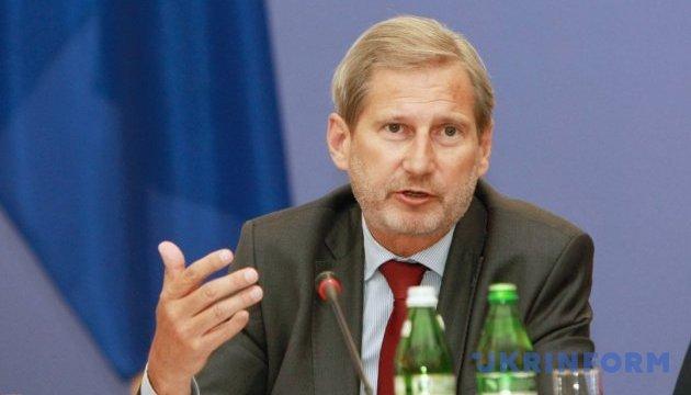 ЕС берет обязательства выделять средства на восстановление Донбасса