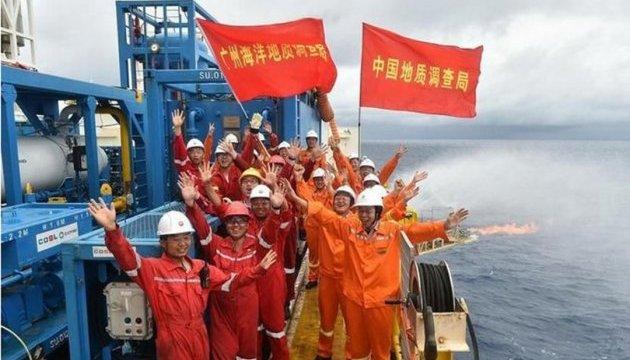"""Китайские запасы """"горючего льда"""" оцениваются в 80 млрд тонн"""