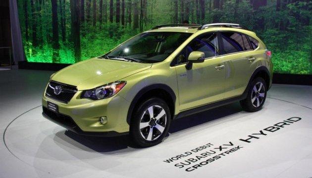Subaru будет производить электрокары и гибриды