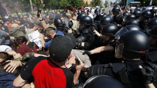 Гей-парад в Киеве собрал рекордное число участников