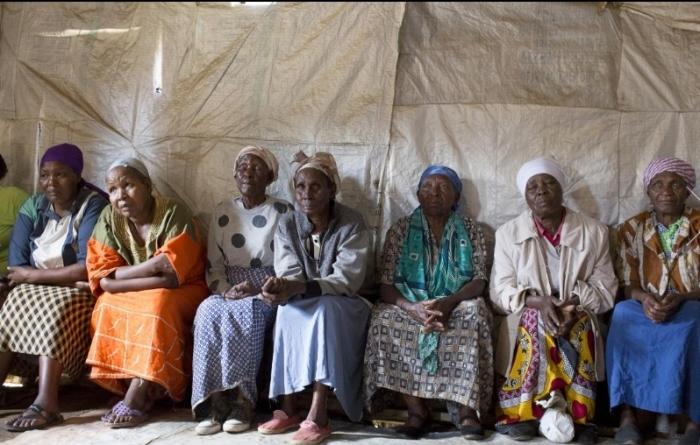 """В Кении открыли """"бойцовский клуб"""" для бабушек (фото)"""