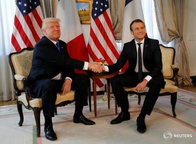 Трамп и Макрон пообещали нанести совместный удар по Асаду