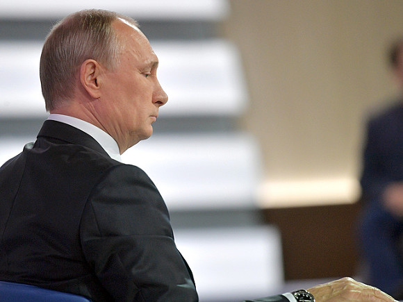 Путин пойдет на выборы президента РФ – СМИ