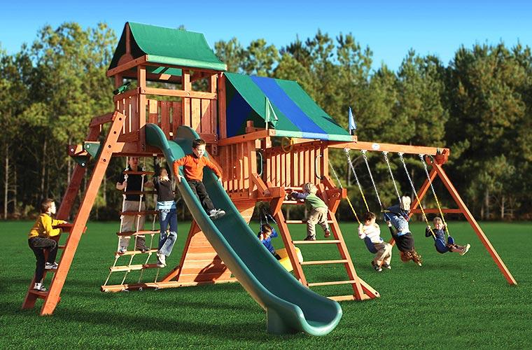 Польза и преимущества современных детских площадок