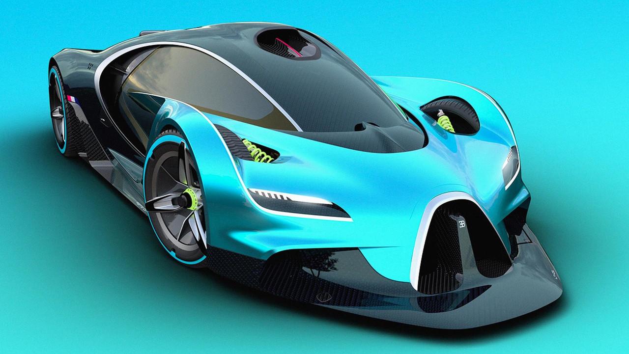 Каким будет новый гиперкар Bugatti (фото)