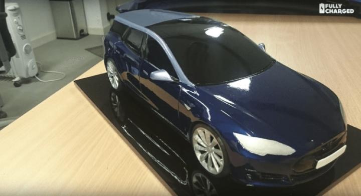 Специально для европейского рынка: Tesla Model S станет универсалом (фото)