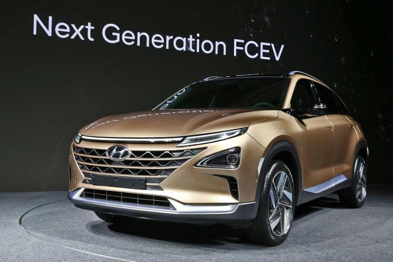 Hyundai запустит в производство водородный кроссовер (фото)
