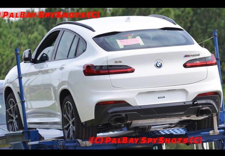 Появились первые фотографии нового BMW X4