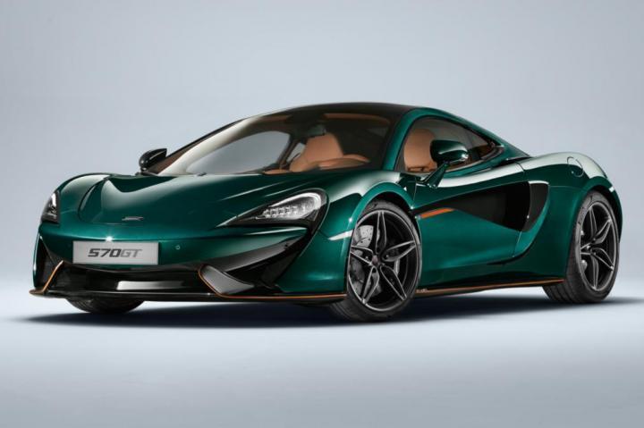 McLaren представит свой самый «практичный и комфортный» суперкар в необычном цвете (Фото)