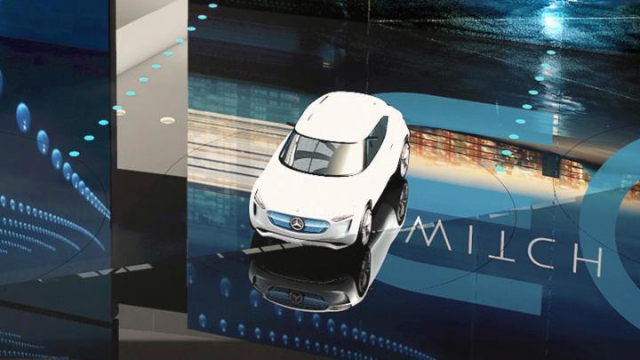 Mercedes разрабатывает электрический хэтчбек (фото)