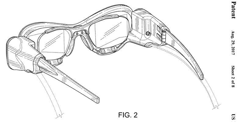 Появились патентные изображения еще одних очков дополненной реальности (фото)