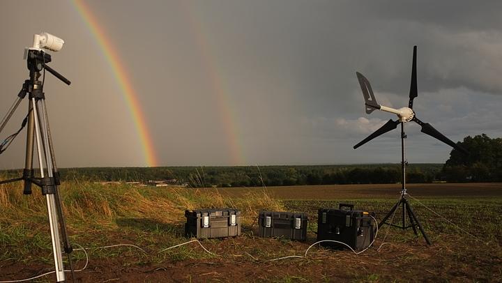 Житель США придумал, как майнить криптовалюту при помощи ветра (фото)
