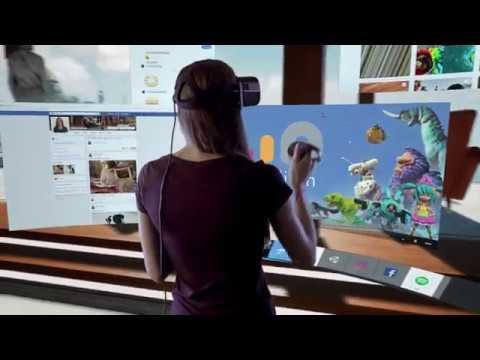 Facebook представил 360-градусный VR-монитор