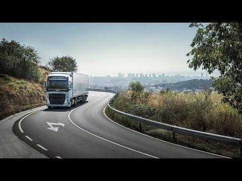 Volvo представила тяжелые грузовики для дальнобойщиков на газу (видео)