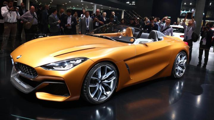 Новый BMW Z4 получит «заряженную» версию (фото)