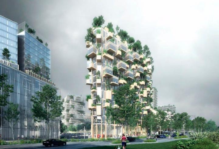 Во Франции появится первый «вертикальный лес»