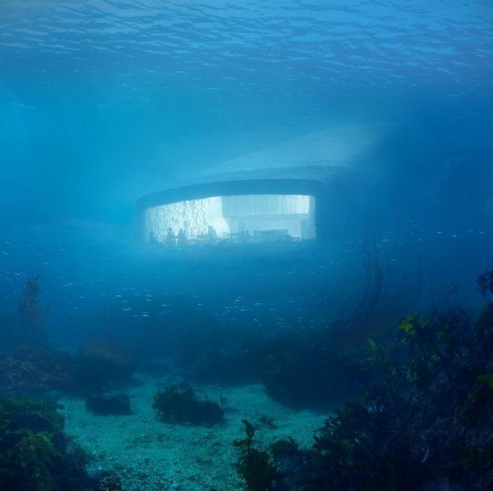 В Норвегии построят первый в Европе подводный ресторан (ФОТО)