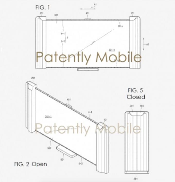 В патентах Samsung нашли «умный» кошелек и сворачиваемый телевизор
