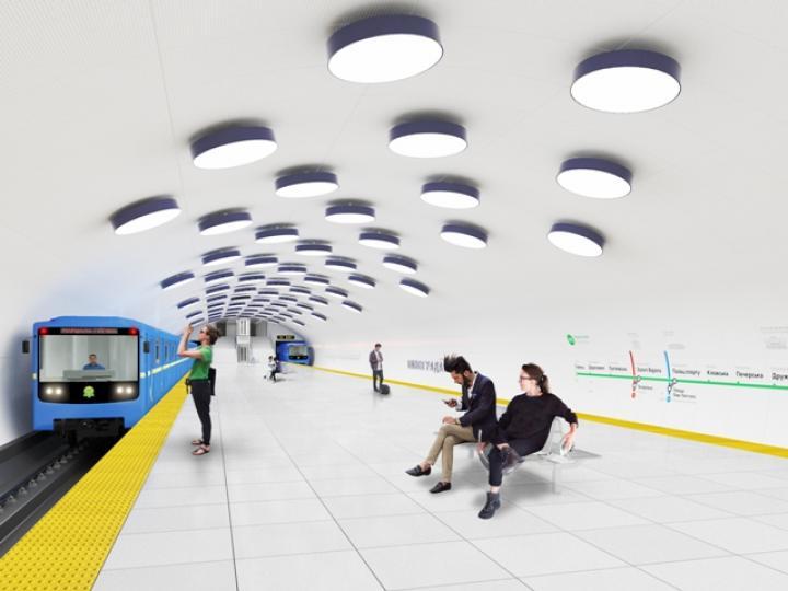 Как будут выглядеть новые станции метро на Виноградаре (фото)