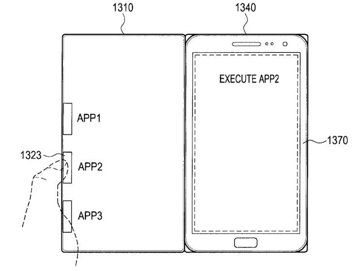 В Samsung придуманы «умные» обложки для гаджетов с функцией запуска приложений