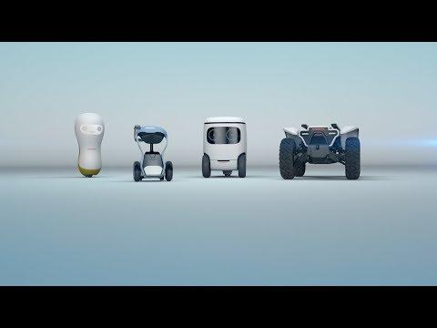 Honda показала четырех роботов-помощников (видео)