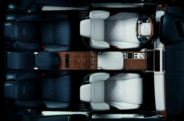 Range Rover показал салон трехдверного кроссовера