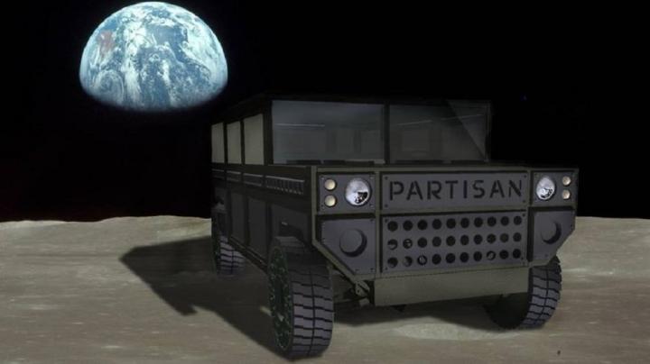 Немцы подготовили брутальный внедорожник «для Марса» (фото)