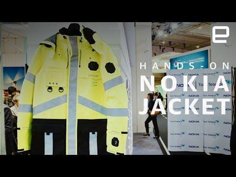 Nokia представила модульную умную куртку для спасателей (видео)
