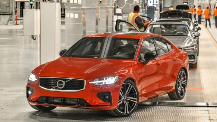 Volvo продемонстрировала первый автомобиль, собранный в США (фото)