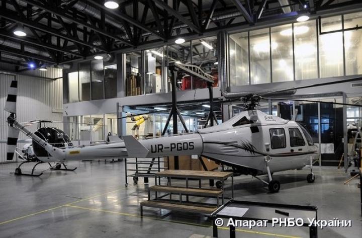 Турчинов показал новые украинские вертолеты (фото)