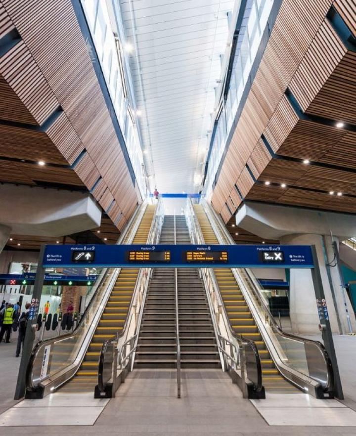 В Лондоне реконструировали один из крупнейших вокзалов мира за 1 млрд фунтов (фото)