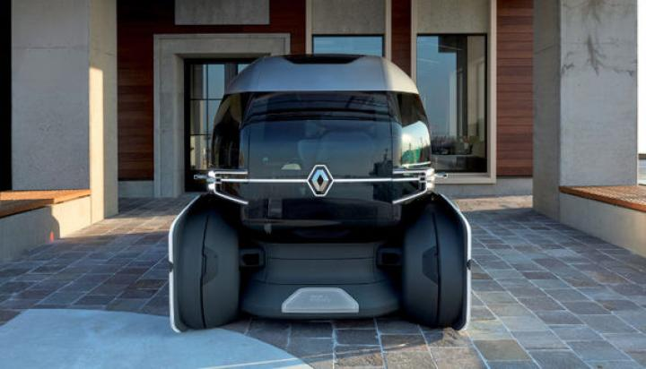 Renault разработал беспилотный грузовик для доставки товаров (фото)