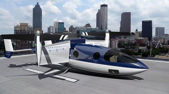 Американская компания представила пассажирский самолет с вертикальным взлетом (фото)